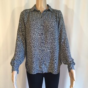 H&M Long Sleeves Button Up Blouse